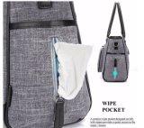 Водонепроницаемый Детский пеленок Diaper моды женская сумка с Stroller ремешка