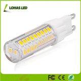 Mini bulbo de SMD 2835 7W G9 LED con la base de Cermic para la iluminación casera
