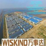 Huis van de Bouw van China Uruguay het Staal Geprefabriceerde met Met hoge weerstand
