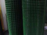 Acoplamiento de alambre galvanizado soldado cubierto PVC del hierro (azul/verde)