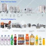 Imbottigliatrice automatica piena dell'acqua