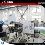 Sola máquina de la granulación del tornillo de la película plástica