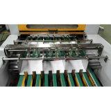 断裁機械(130times/min)へのA4サイズのペーパーロール