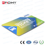 Ntag203 13.56MHz RFID Hf Tarjeta billete de papel