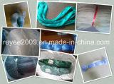 青い単繊維釣は中国の漁網のナイロンネットに用具を使う
