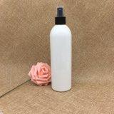 400ml borran la botella plástica de la loción de la bomba del punto negro transparente del animal doméstico