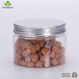 300ml/250ml/400ml/450ml/frascos de creme plásticos transparentes do animal de estimação para a embalagem cosmética