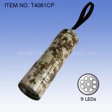 알루미늄 합금 9 LED 토치 (T4081)