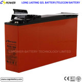 nachladbare Vorderseite-Terminalbatterie des Gel-12V150ah, für Telekommunikationssolar