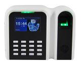 Independiente de reloj de tiempo de la huella digital con lector de tarjetas de identificación (T9)
