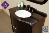 De enige Zwarte Chinese Badkamers van de Ijdelheid van de Ijdelheid van de Badkamers van het Graniet Zwarte met Countertop