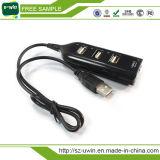 Mejor Venta de alta velocidad de 4 Puertos USB Hub (Uwin-133)