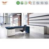 主任のためのハイエンドHDFのベニヤの事務机の執行部の家具の机