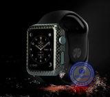 Cubierta elegante de la caja del teléfono del reloj de la nueva de la llegada fibra del carbón