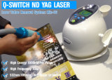 Mini máquina Pain-Free del retiro del tatuaje del laser del ND YAG