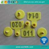 RFID 134.2kHz Animal Ear Tag per Animal Identification