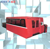 Schnelle Geschwindigkeits-Kohlenstoffstahl-Edelstahl-Faser-Laser-Ausschnitt-Maschine