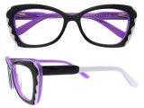 La nuova montatura per occhiali superiore arrivata dell'acetato con Ce ha approvato