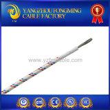 UL3122 fil de haute température isolé en silicone et tressage en fibre de verre 2.5mm