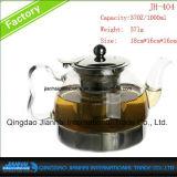 Teiera di vetro termoresistente all'ingrosso per tè