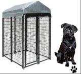 5ftx6ftx15FTの粉のコーティングの溶接された網犬の実行の犬小屋か犬の実行のパネル