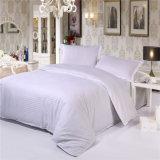 工場直売の白い綿の安いホテルのブランドの麻布の寝具
