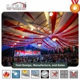 tenda di 15X40m per 500 genti nel Botswana con la decorazione