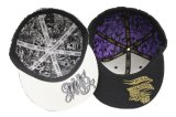 Form Flat Hiphop Snapback Cap mit 3D Embroidery und Printing Pattern