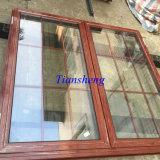 Fenêtre ouverte en aluminium à manivelle