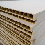 protection environnementale imperméable en plastique en bois porte d'entrée composite