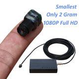 del peso 2g più piccola mini HD del mondo macchina fotografica di Digitahi 1080P con il registratore di DVR (uscita di HDMI, H. 264, 5MP)