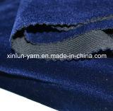 100% poliéster cepillo / recubierto / enlazado / flocado tejido de terciopelo de poliéster para la ropa / zapatos / sofá