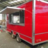 Panier alimentaire kiosque mobile Van pour la vente pour la vente de remorque