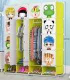 Salón armario ropero de plástico, Venta de vestuario con Perchero Polo, el Panel de PP plegable barato DIY Dormitorios armarios empotrados (EP-03)