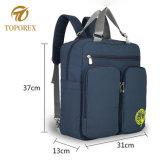 Novo modelo de mochila de ressalto duplo Múmia Saco do bebé com grande capacidade