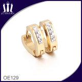 2 gramo de oro Hermosos aretes diseñados para la Mujer