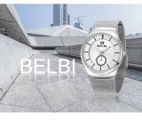 2017 Polshorloge van de Mensen van Belbi van het Embleem van de Douane van de Manier het Met de hand gemaakte, In het groot OEM van de Horloges van de Luxe met de Beweging van het Kwarts