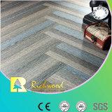 Pavimento laminado de aço inoxidável de 8,3 milímetros HDF Crystal Oak