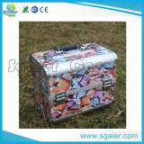 Cosméticos de aluminio Caja de almacenamiento, el caso de Belleza