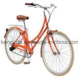 """熱い販売の""""鉄骨フレーム都市7速度指標バイクフレームのClassiceの28人のオランダ人の自転車"""