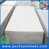 surtidor del panel de la espuma del PVC del 1.22m*2.44m de tamaño de Shangai (blanco puro, caliente: 4 ' *8')