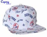 Amarillo Snapback Hat fábrica de algodón estilo