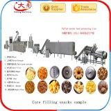 O enchimento de enchimento de milho Snacks a linha de produção de alimentos