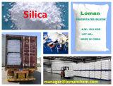 높은 실리카 내용 공장 가격을%s 가진 백색 석영 실리카 이산화물