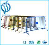 Barreiras de segurança do metal - barreira galvanizada do controle de multidão