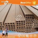 Suelo plástico de madera del Decking/WPC del compuesto/WPC