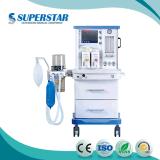 Estación de trabajo de equipo de anestesia anestesia multifuncional con ventilador