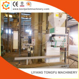 La biomasa pellets de madera y alimentar la máquina de embalaje