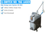 Q-Switched Nd YAG Laser-Tätowierung-Abbau