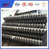 Rolo de transporte de aço carbono (DTII, TD75) para planta de mistura de concreto